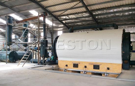 Beston Waste Tyre To Oil Plant